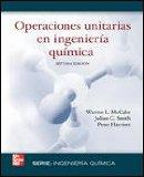 Portada de OPERACIONES UNITARIAS EN INGENIERIA QUIMICA