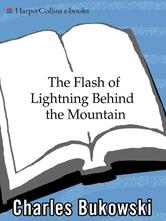 Portada de THE FLASH OF LIGHTNING BEHIND THE MOUNTAIN