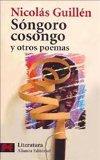 Portada de SONGORO COSONGO Y OTROS POEMAS