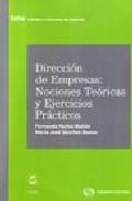Portada de DIRECCION EMPRESAS OPCIONES TEORICAS Y EJERCICIOS