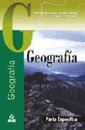 Portada de ACCESO A LA UNIVERSIDAD PARA MAYORES DE 25 AÑOS: GEOGRAFIA. PRUEBA ESPECIFICA