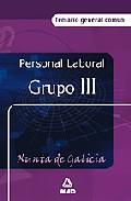 Portada de PERSONAL LABORAL DE LA XUNTA DE GALICIA : TEMARIO GENE RAL