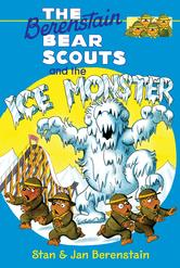 Portada de THE BERENSTAIN BEARS CHAPTER BOOK: THE ICE MONSTER