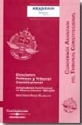 Portada de ELECCIONES POLITICAS Y TRIBUNAL CONSTITUCIONAL