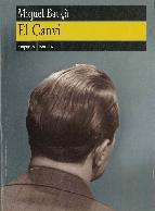 Portada de EL CANVI. (EBOOK)