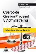 Portada de CUERPO DE GESTION PROCESAL Y ADMINISTRATIVA DE LA ADMINISTRACION DE JUSTICIA . TEMARIO. VOLUMEN II