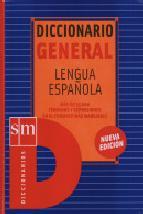 Portada de DICCIONARIO GENERAL LENGUA ESPAÑOLA (INCLUYE CD-ROM)