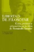 Portada de LIBERTAD DE FILOSOFAR