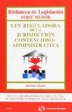 Portada de LEY REGULADORA DE LA JURISDICCION CONTENCIOSO-ADMINISTRATIVA (7ª ED.)