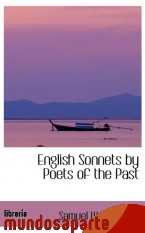 Portada de ENGLISH SONNETS BY POETS OF THE PAST