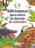 Portada de ADIVINANZAS DE ANIMALES PARA ANTES DE DORMIR