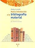 Portada de NUEVA INTRODUCCION A LA BIBLIOGRAFIA MATERIAL