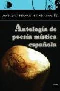Portada de ANTOLOGIA DE POESIA MISTICA ESPAÑOLA