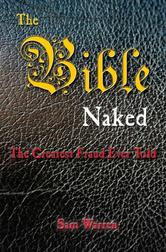 Portada de THE BIBLE NAKED, THE GREATEST FRAUD EVER TOLD