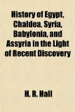 Portada de HISTORY OF EGYPT, CHALDEA, SYRIA, BABYLO