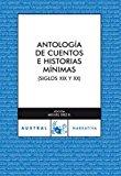 Portada de ANTOLOGIA DE CUENTOS E HISTORIAS MINIMAS
