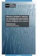 Portada de METODOS, DISEÑOS Y TECNICAS DE INVESTIGACION PSICOLOGICA. PRACTICAS OBLIGATORIAS CURSO 2009/10