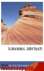 Portada de KOLONIALES JAHRBUCH