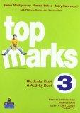 Portada de TOP MARKS. STUDENT'S BOOK-ACTIVITY BOOK. PER LA SCUOLA MEDIA. CON CD AUDIO E CD-ROM: 3