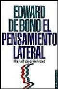Portada de EL PENSAMIENTO LATERAL MANUAL DE CREATIVIDAD