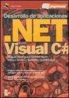 Portada de DESARROLLO DE APLICACIONES. NET CON VISUAL C#