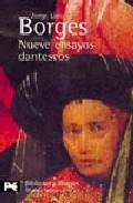 Portada de NUEVE ENSAYOS DANTESCOS