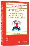 Portada de LEY REGULADORA DE LA JURISDICCION CONTENCIOSO ADMINISTRATIVA
