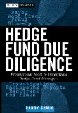 Portada de HEDGE FUND DUE DILIGENCE: PROFESSIONAL TOOLS TO INVESTIGATE HEDGE FUND MANAGERS (WILEY FINANCE SERIES)