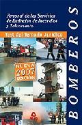 Portada de BOMBEROS. PERSONAL DE LOS SERVICIOS DE EXTINCION DE INCENDIOS Y SALVAMENTO: TEST DEL TEMARIO JURIDICO