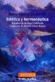 Portada de ESTETICA Y HERMENEUTICA