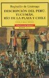 Portada de DESCRIPCION DEL PERÚ, TUCUMAN, RIODE LA PLATA Y CHILE