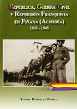 Portada de REPUBLICA, GUERRA CIVIL Y REPRESION FRANQUISTA EN FIÑANA  1931-1945