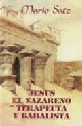 Portada de JESUS EL NAZARENO TERAPEUTA Y KABALISTA