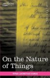 Portada de ON THE NATURE OF THINGS