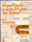 Portada de ALGORITMOS Y ESTRUCTURAS DE DATOS UNA PERSPECTIVA EN C