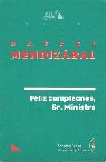 Portada de FELIZ CUMPLEAÑOS SR MINISTRO