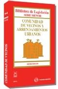 Portada de COMUNIDAD DE VECINOS Y ARRENDAMIENTOS URBANOS