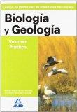 Portada de CUERPO DE PROFESORES ENSEÑANZA SECUNDARIA: GEOLOGIA BIOLOGIA. VOLUMEN PRACTICO
