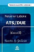 Portada de ATS/DUE XUNTA DE GALICIA: TEMARIO ESPECIFICO