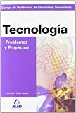 Portada de CUERPO DE PROFESORES: ENSEÑANZA SECUNDARIA: PROBLEMAS Y PROYECTOSDE TECNOLOGIA