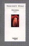 Portada de ESCRIBIR