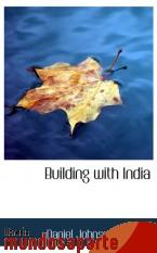Portada de BUILDING WITH INDIA