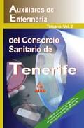 Portada de AUXILIARES DE ENFERMERIA DEL CONSORCIO SANITARIO DE TENERIFE: TEMARIO VOL. 2