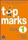 Portada de TOP MARKS. STUDENT'S BOOK-ACTIVITY BOOK-PORTFOLIO. CON CD AUDIO. PER LA SCUOLA MEDIA: 1