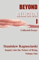 Portada de BEYOND RELIGION VOLUME I