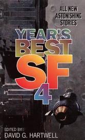 Portada de YEAR'S BEST SF 4
