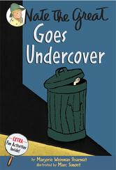 Portada de NATE THE GREAT GOES UNDERCOVER