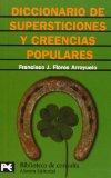 Portada de DICCIONARIO DE SUPERSTICIONES Y CREENCIAS POPULARES