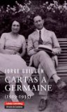 Portada de CARTAS A GERMAINE (1915-1935)