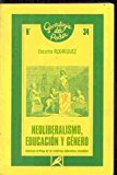 Portada de NEOLIBERALISMO, EDUCACION Y GENERO ANALISIS CRITICO DE LA REFORMAEDUCATIVA ESPAÑOLA